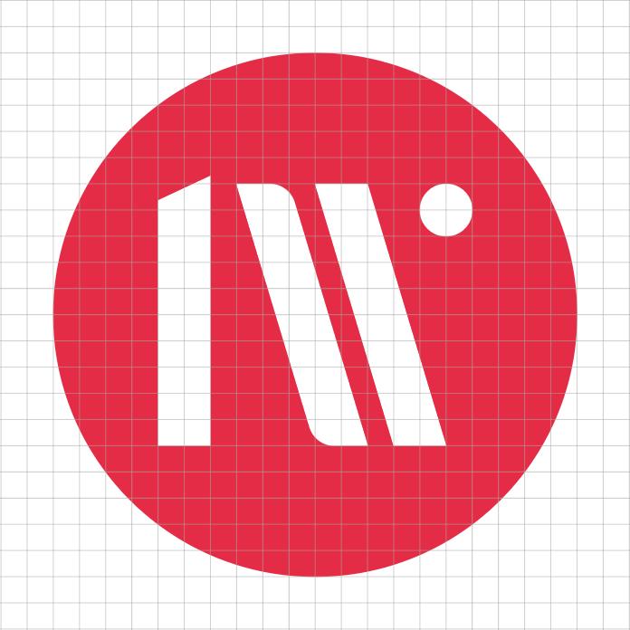 Das leeway Logo im Raster.